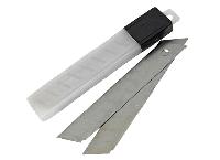 Лезвия для канцелярского ножа 18 мм 10 шт./уп.