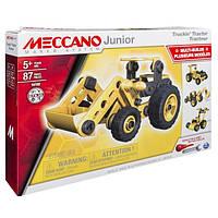 Конструктор Meccano Junior Трактор 87 элементов (6027019)