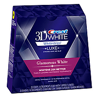 Crest 3D White Whitestrips Luxe Glamorous - Отбеливающие полоски для зубов (28 полосок)