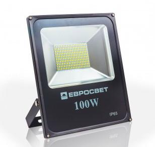 Прожектор светодиодный EV-100  PROFESSIONAL серия  6400K 8000Lm SMD SanAn