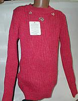 Туника свитер для девочки с 9 до 14 лет без пилинга