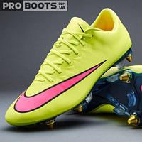 Футбольные бутсы Nike Mercurial Vapor X SG Pro Lemon