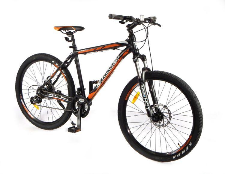 Горный одноподвесный велосипед Crosser 26дюймов Count 17 рама бело-оранжевый