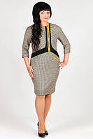 Платье деловое офисное модель DL 917-16