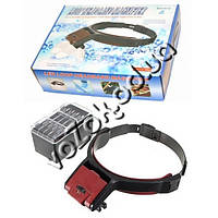 Увеличительные бинокулярные очки лупа Loop Headband Magnifier MG81001-B