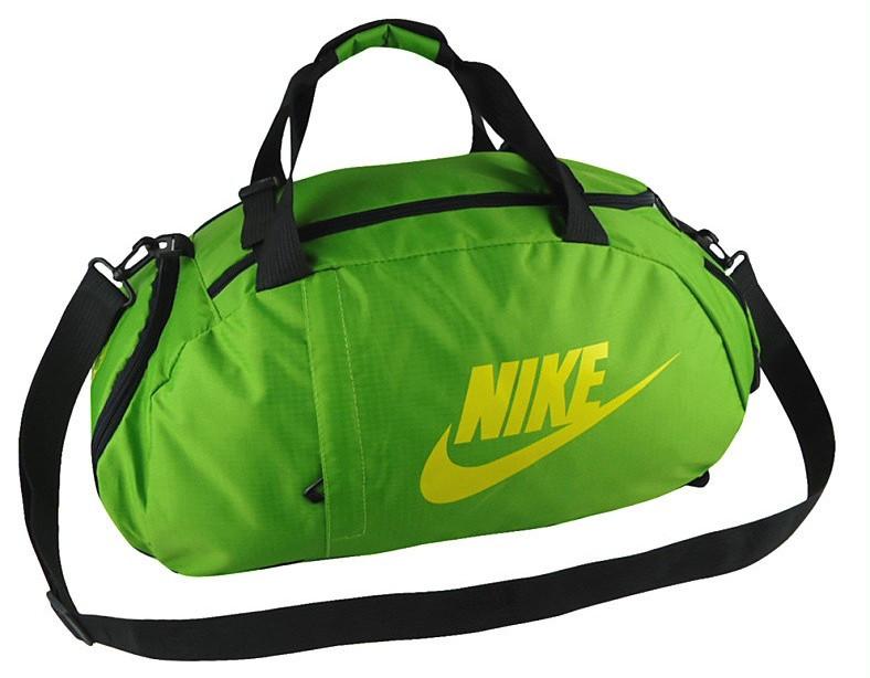 Сумка-рюкзак Nike Total 90 Slim, Найк зелёная с жёлтым ( код: IBS070G )