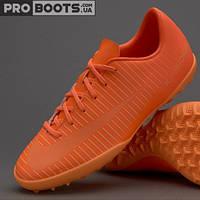 Детские сороконожки Nike Mercurial Vapor XI TF Junior Super Orange