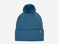 Теплая зимняя шапка Pom