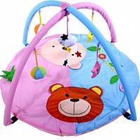 Коврик развивающий ARTI 7362045 Bears Blue/Pink