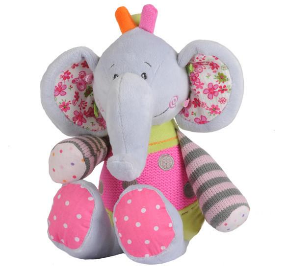 Велюр большой слон (возраст 0m+) BabyOno 1195