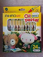 Пастель олійна, 24 кольори., фото 1
