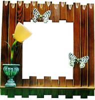 Светильник настенный, картина, 400х420х100