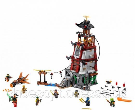 Конструктор Bela Ninja Ниндзя Осада маяка: 815 деталей, 8 фигурок, фото 1