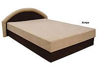 Кровать двуспальная Ривьера 160х200 с матрасом матрасная ткань, ткань Астра, кондор