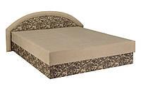 Кровать двуспальная Ривьера 160х200 с матрасом матрасная ткань, ткань Астра