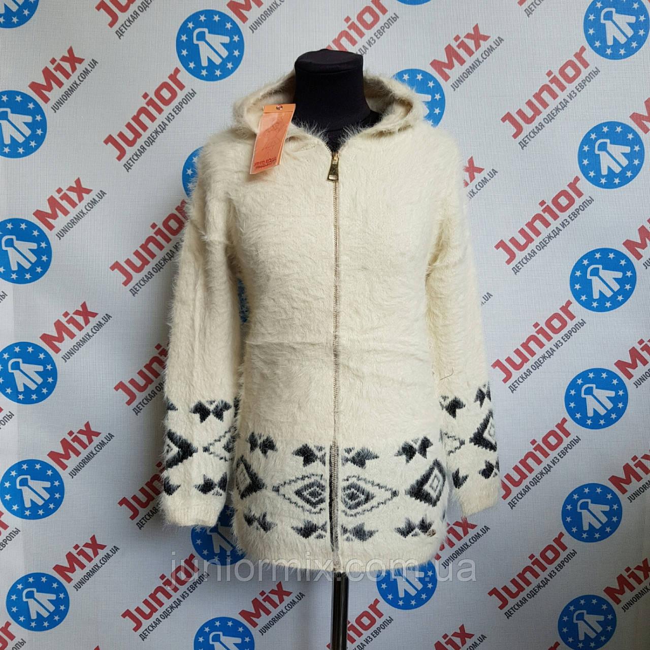 Кофта на молнии с капюшоном для девочки подростка Novo Style.ИТАЛИЯ.