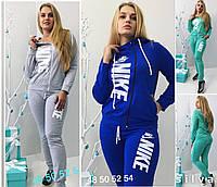 Женский костюм Nike на змейке большого размера