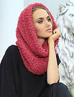 Красивый модный шарф-снуд от Kamea -  Francesca. 56-58, малиновый