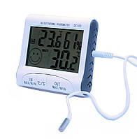 Цифровой термометр гигрометр с выносным датчиком DC 103, фото 1
