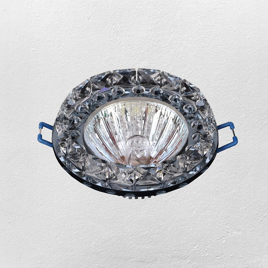 Точечный врезной светильник (модель 16- 228 черный)