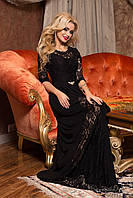 Женское романтичное вечернее платье в пол + большой размер