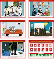 """""""Обязанности работников по выполнению требований пожарной безопасности"""" (6 плакатов ф. А3)"""