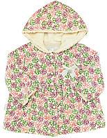 Кофта для девочки:цвет -Рисунок,размер-62 см,1-3 мес