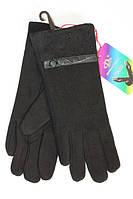 Качественные женские трикотажные перчатки
