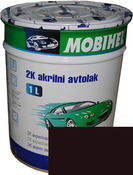 Краска Mobihel Акрил 0,75л 793 Темно Коричневая.