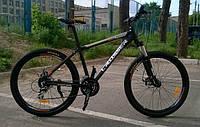Горный одноподвесный велосипед Crosser 26 дюймов Banner 19 рама синий, фото 1