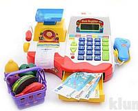 Детский кассовый аппарат Мини касса 7162, фото 3