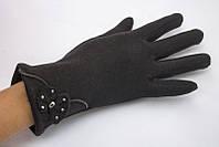 Теплые женские перчатки из качественного материала