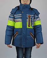 Куртка зимняя wb-wa,100% холлофайбер, теплая, размеры 92 -146 см, фото 1