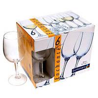 Набор бокалов для вина 260мл*6шт ENCHANTE Luminarc