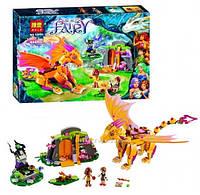 """Конструктор Bela Fairy 10503 """"Лавовая пещера дракона"""", 446 деталей"""