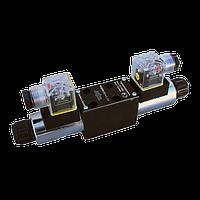 Гидрораспределители золотниковые, одно и двухстороннее электромагнитное управление Ду = 4 мм