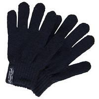 Перчатки Вязанные Для Мальчика Или Девочки Темно-синие Очень Теплые BRUMS, Италия