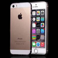 Ультртонкий силиконовый тпу чехол iPhone 5/5s/SE