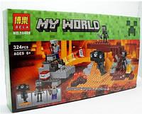 """Конструктор Bela Minecraft 10469 """"Иссушитель"""", 324 детали"""