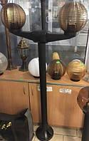 Стойка - столб 1,00м для двойного уличного светильника