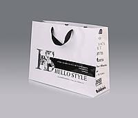 Изготовление бумажных пакетов для верхней одежды