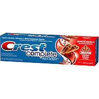 Crest Complete Multi-Benefit Whitening Cinnamon Rush - Отбеливающая зубная паста, 170 г