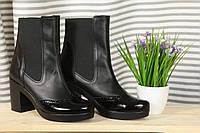 Ботинки женские кожаные / Women's boots leather