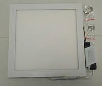 Светодиодный светильник 24w 4100K квадрат врезной