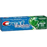 Crest Complete Multi-Benefit Whitening Herbal Mint Expressions - Отбеливающая зубная паста, 170 г