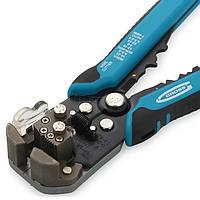 Стриппер GROSS клещи для снятия изоляции с проводов и опрессовки клемм GROSS - 17718