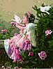 Картины по номерам 40×50 см. Ангелочек с голубями Художник Грошев Слава