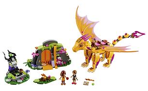 """Конструктор Bela Fairy 10503 аналог Lego Elves 41175 """"Лавовая пещера дракона огня"""", 446 дет, фото 2"""