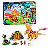"""Конструктор Bela Fairy 10503 аналог Lego Elves 41175 """"Лавовая пещера дракона огня"""", 446 дет"""