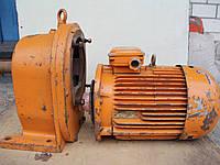 Мотор-редуктор цилиндрический двухступенчатый соосный 2МЦ2С-125 11 кВт 4AM132M4